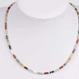 Korte multicolour ketting