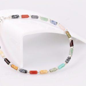 multicolor armband zilver925